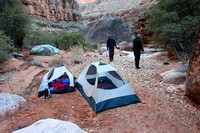 Day 2 - Morning camp in Royal Arch drainage